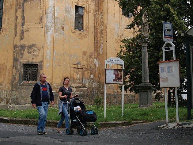 Kostel svaté Anny je dominantou Sedlece. Od té doby, co se zde přestaly vykonávat bohoslužby, tak chátrá. Tomu se snaží zabránit místní sdružení.