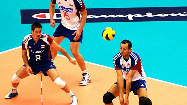 ME ve volejbalu: Česko - Rusko