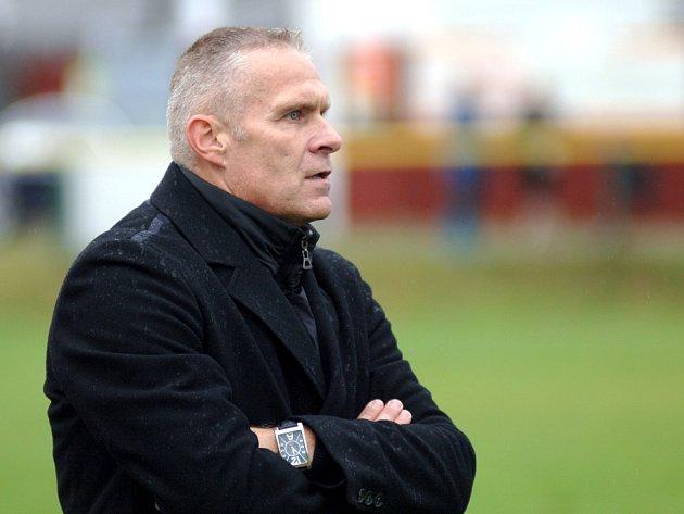 Oldřich Abrhám, trenér 1.FC Karlovy Vary.
