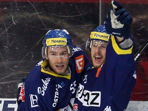 Petr Pohl (vlevo) a Tomáš Káňa by měli opět nastupovat ve stejné formaci. Tentokrát ale v dresu Energie.