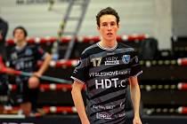 Petr Nöbauer, útočník FB Hurrican Karlovy Vary.