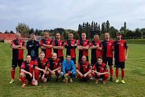 Fotbalisté Útviny v okresním přeboru jako jediný tým neztratili ještě ani bod a po zásluze jim patří první místo.