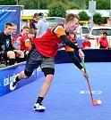 Česká pojišťovna Street Floorball League premiérově v lázeňském městě.