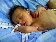 Karolínka Hauptová z Jenišova se narodila 24. 11. 2012