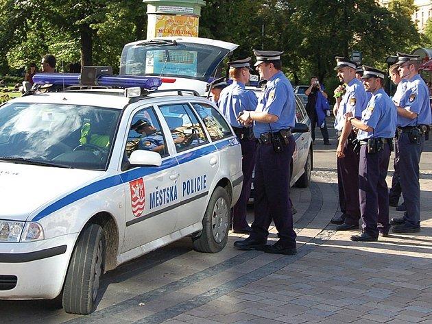 Strážníci v pohotovosti