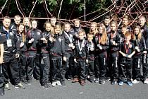 Českým karatistům CAOKK zapršely na mistrovství v belgickém Herstalu tituly mistrů a vicemistrů Evropy!