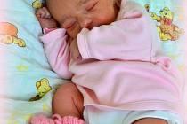 Alžběta Círová z Ostrova se narodila 30. 1. 2014.