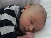 MATYÁŠ NOVÁK z Karlových Varů se narodil 7. 5. 2017