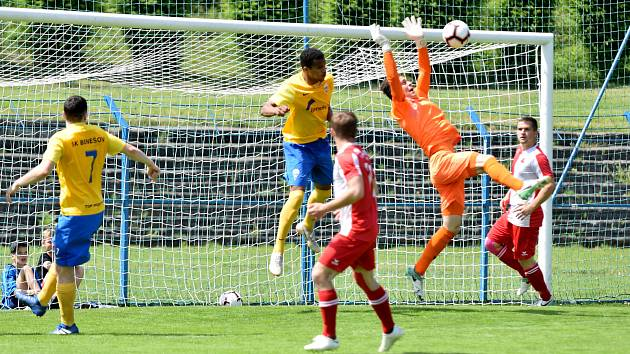 Karlovarská Slavia zakončila anglický týden na půdě Benešova prohrou 1:2.