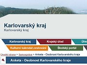 Anketa Karlovarského kraje