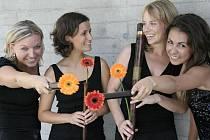 Londýnské dámské flétnové kvarteto I Flautisti.