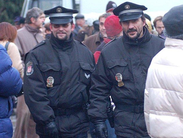 Strážníci městské policie.