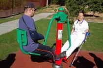 Zařízení následné rehabilitační a hospicové péče vybudovalo svým pacientům relaxační zónu.