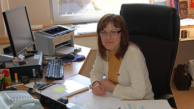 Eva Valjentová, krajská radní pro kulturu.