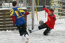 Druhé kolo sedlecké Zimní ligy 2010.