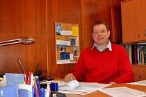 Starosta Žlutic Václav Slavík