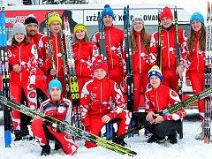 LK Slovan Karlovy Vary, oddíl běžeckého lyžování.