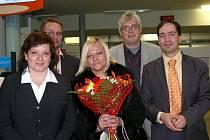 Tatiana Olechkina, jubilejní cestující
