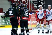 MHL. HC Energie – Loko Jaroslavl 6:1.