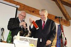 Prezident Miloš Zeman v Kynšperku nad Ohří