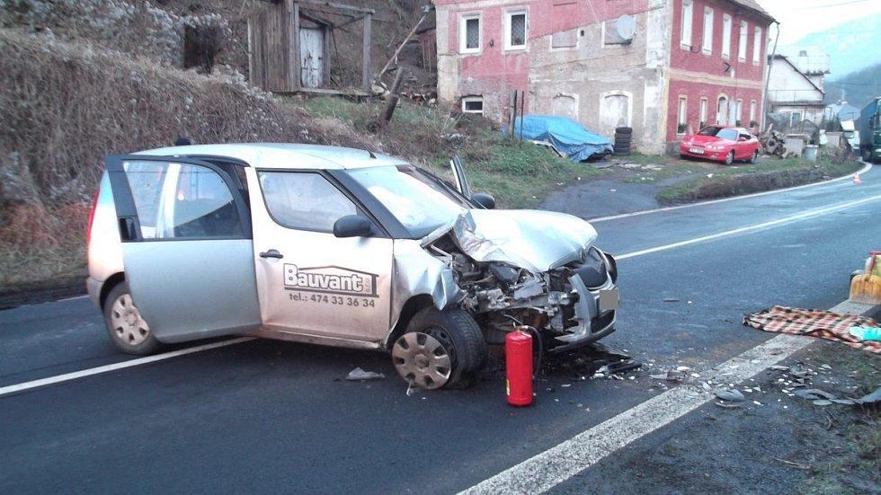 Zřejmě spánek stojí za nehodou ve Stráži nad Ohří