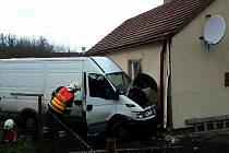 Dopravní nehoda se stala v pátek 20. listopadu v odpoledních hodinách.