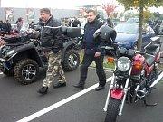 Motorkáři v Karlovarském kraji se rozloučili se sezonou