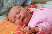 Gabrielka Juklová z Potůčků se narodila 8. 8. 2014