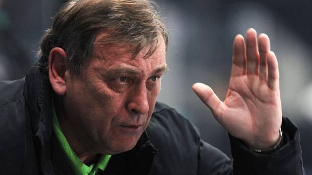 Trenér karlovarských hokejistů Josef Paleček.