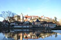 Město Loket.