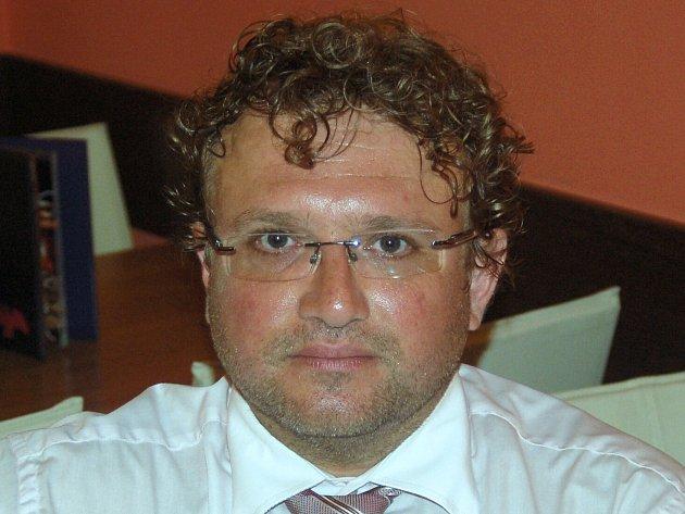 Nově jmenovaný ředitel hotelu Thermal Daniel Křováček.
