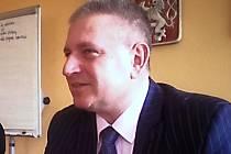 Hejtman Martin Havel (ČSSD).