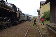 Tradiční Pivní maraton se uskutečnil v sobotu v Chyších. Maratonce z Plzně přivezl na místo speciální expres Prokop tažený historickou parní lokomotivou.