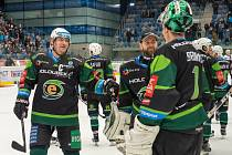 Hokejisté Energie prolomili sérii porážek, v Chomutově vyhráli v prodloužení.