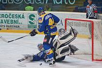Výborný výkon předvedl v utkání Ústeckých lvů s Energií Karlovy Vary Petr Přikryl.