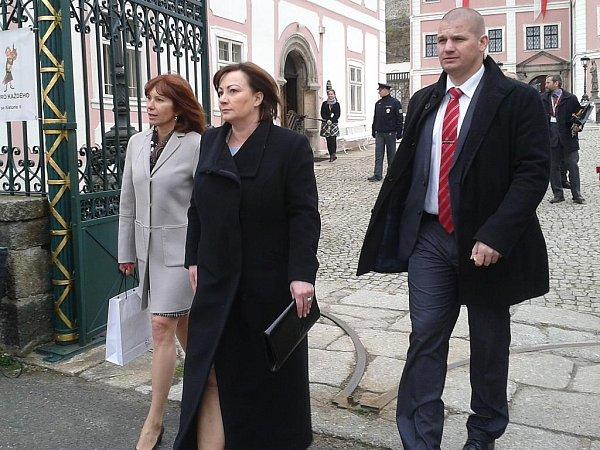 První dáma na zámku vBečově
