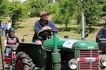 Traktorová show v Hájku