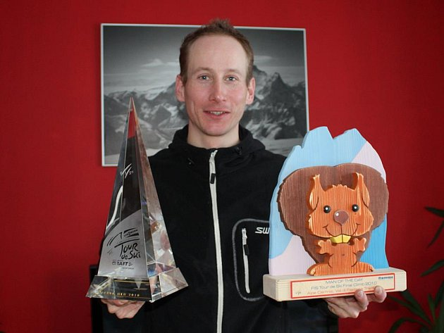 Lukáš Bauer, vítěz Tour de Ski 2010.