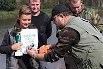 Úspěšná práce s rybářskou mládeží.
