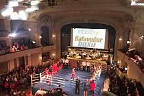 Galavečer boxu v Národním domě.