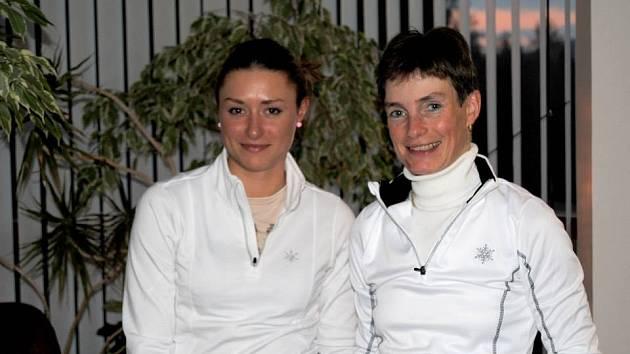 Petra s maminkou Evou.