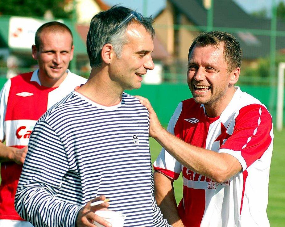 Po dlouhých dvanácti letech se opět představí v Sedleci fotbalové legendy, které se střetnou v derby pražských S.