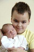 Lucas Obidonski (s bráškou Samuelem) z K. Varů se narodil 15. 10. 2013