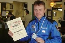 ÚSPĚŠNÝ STRÁŽNÍK. Jindřich Lát (na snímku) dokázal zvítězit v těžké konkurenci letošní jarní části seriálu závodů Bahna.