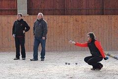 V Kolové se uskutečnil zimní turnaj v petanque.