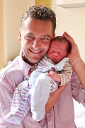 Michael Muráň z Horního Slavkova se narodil 20. 9. 2012