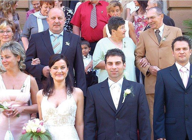 První náměstek karlovarské primátorky Tomáš Hybner (ČSSD) se v sobotu podruhé oženil!