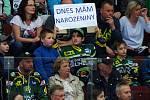 HC Energie (v zeleném) hostila Duklu JihlavaOslavenec