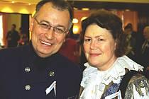 Organizátoři folklorního festivalu Lubor a Eva Hankovi
