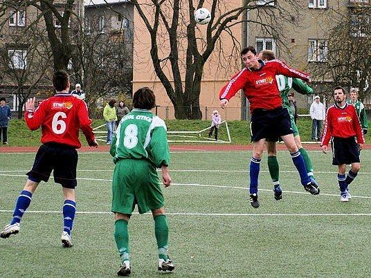 V závěrečném utkání krajské I. A třídy nestačili fotbalisté Citic na lídra tabulky, rezervu Staré Role.